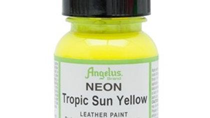 Angelus Tropic Sun Yellow Neon Paint