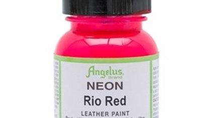 Angelus Rio Red Neon Paint