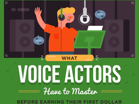 The Skills You Have To Have To Be A Successful Voice Over Actor/Talent