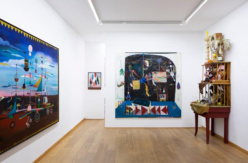 JO VAN DE LOO Exhibition view 1, Various