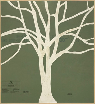 Untitled (green tree), 2019