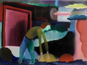 The Greatest, 2020, Oil on canvas, 30 x 40 cm