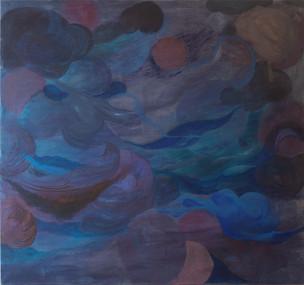 Ciara, 2020, Oil and acrylic on canvas, 150 x 160 cm