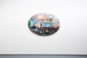 Exhibition view: LA VIE EN ROSE by Monika Michalko