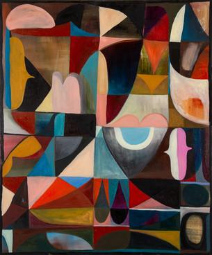 Refurbished, 2020, Oil on canvas, 90 x 70 cm
