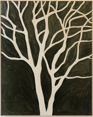 Untitled (black tree), 2019