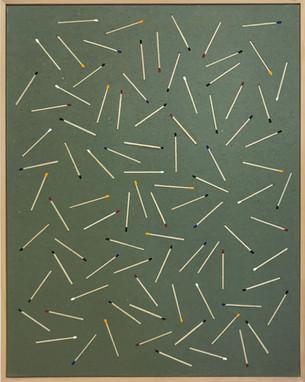 Untitled (matches pattern), 2018
