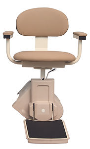 Alpine stairway chairlift model RP350 covers all the basics.