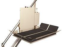 Sierra platform wheelchair lift.