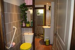 Salle d'eau, gîte la Noyeraie