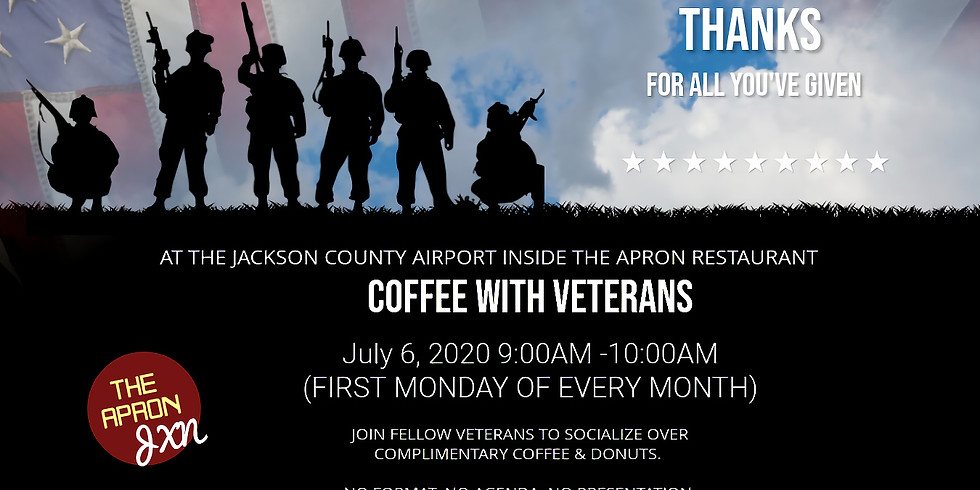 Coffee with Veterans First Monday of every Month
