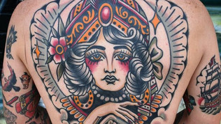 Bobby Ellis Victory Tatto