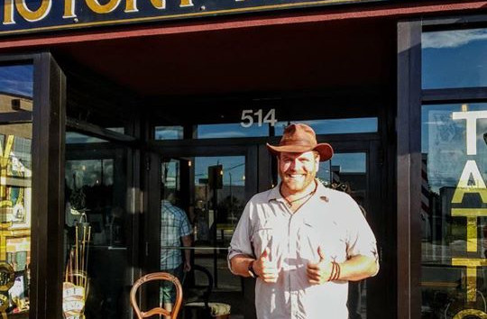 Josh Gates gives Victory Tattoo 2 thumbs