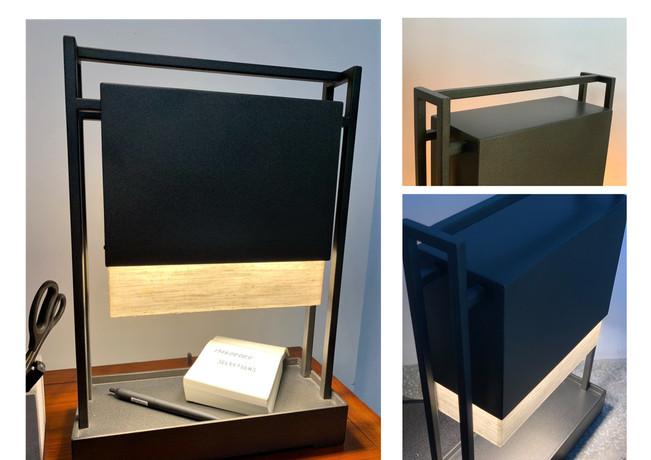 桌燈  H:41.5cm x W:12cm x L:30cm  金屬+燈罩