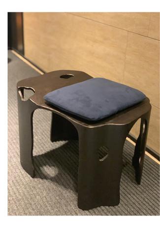 椅凳  金屬+織品