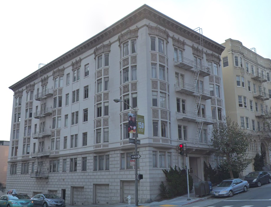 1801 California St apartment building trade