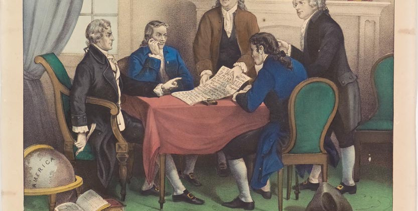 A Lost Paragraph on Slavery - the Declaration of Independence