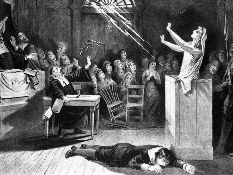 Hysteria, Anger, Lies, and Witch Hunts