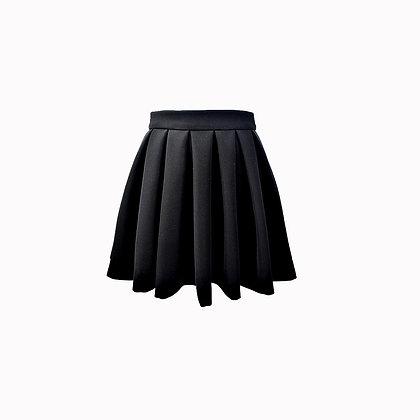 Jupe plissée noire MAGIC