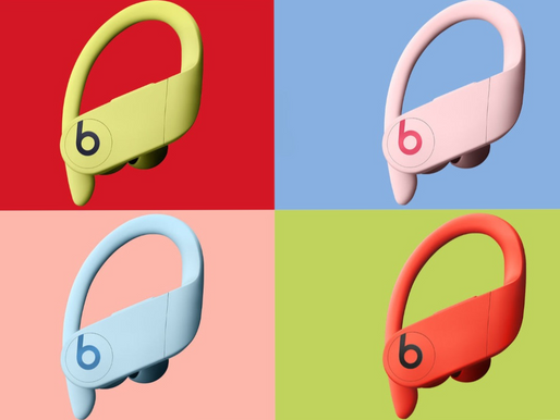 Beats revela novas cores do PowerBeats Pro!