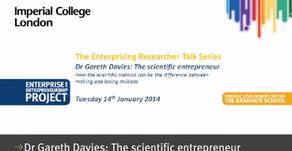 Imperial College Enterprising Researcher Talk Series