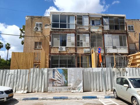 פרויקט תמא 38/1 ברחוב נח 9 בצפון תל אביב