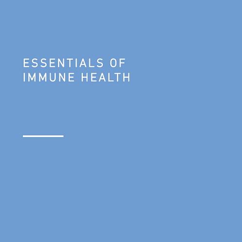 Essentials of Immune Health (digital download)