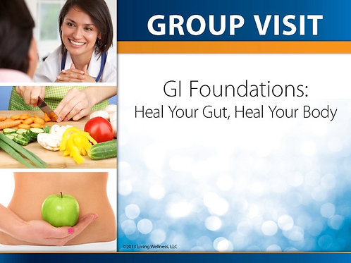 GVT-3:  GI Foundations-Heal Your Gut, Heal Your Body (Digital Download)