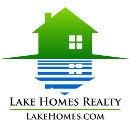 Lake Homes Realty Logo - Gradient House