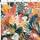 Thumbnail: Noeud papillon brut en bois et tissu mimosa