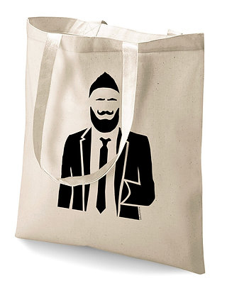 Tote bag Punkster-boy