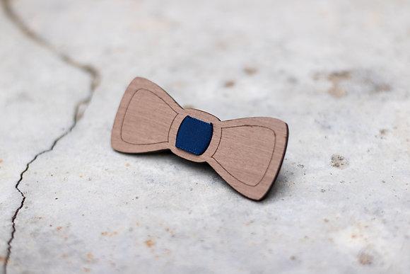 Nœud papillon en bois pour enfants « Brut »