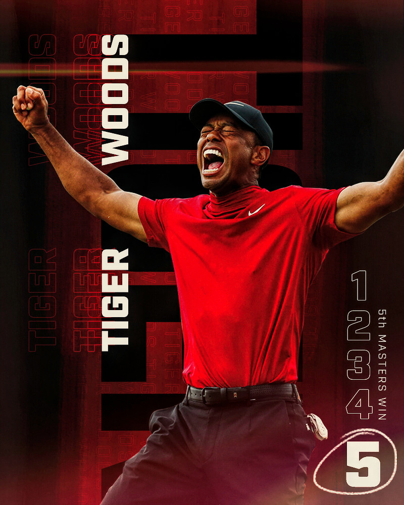 Tiger Woods - Masters Win