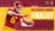 Michael Pittman, 2019 Biletnikoff Finalist. USC Football