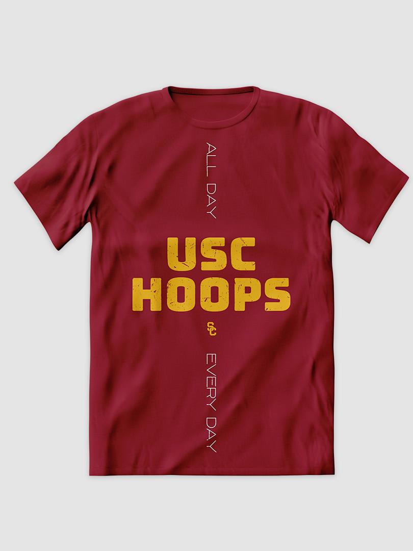 2020 USC Hoops shirt