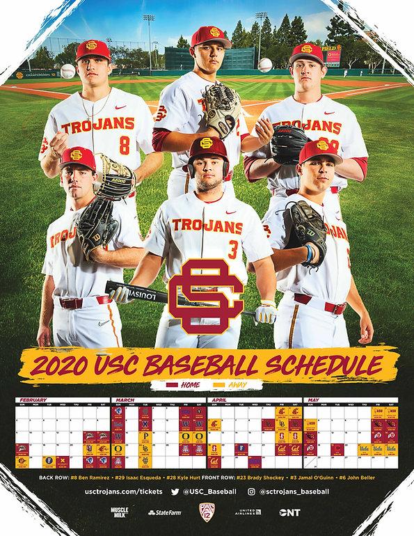 2020 USC Baseball Poster