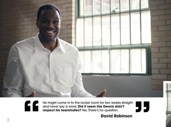 Dennis Rodman ESPN 30 for 30 Quote Deck
