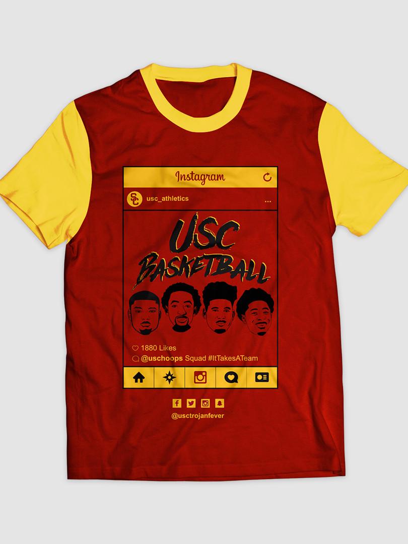 2017 USC Men's Basketball Social Media N