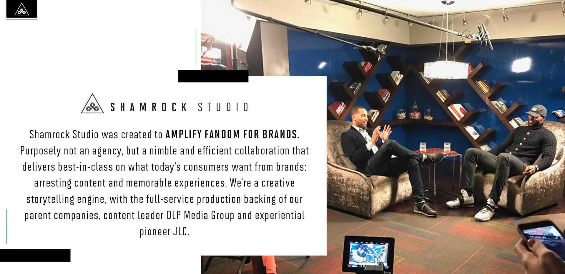 Shamrock Studio Company Deck