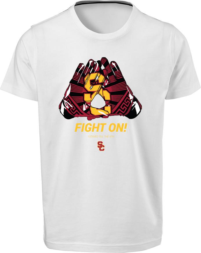2016 USC Football 4th Quarter shirt