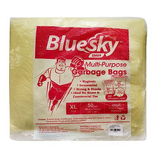 FOCstore Bluesky Garbage Bag XL Yellow