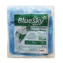 FOCstore Bluesky Garbage Bag L Blue