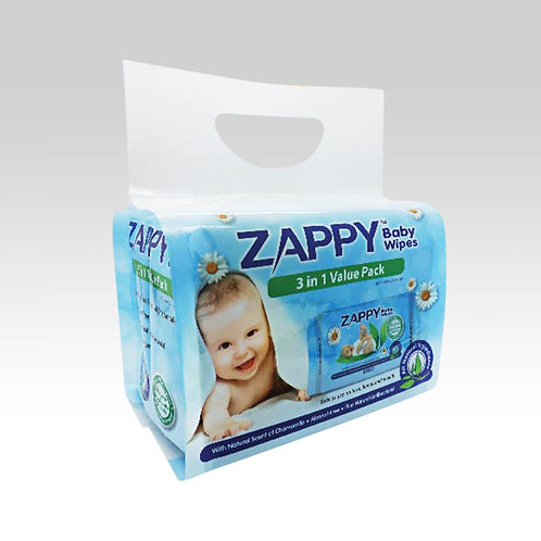 Zappy Baby 30s Wipes Value Pack