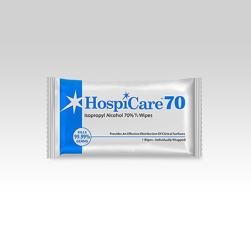 HospiCare 70 Alcohol Wipes