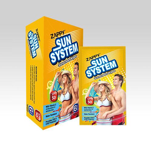 Zappy Sun System 6s Wipes