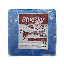 FOCstore Bluesky Garbage Bag S Blue