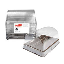 FOCstore Takeaway Box with Transparent Curve Lid