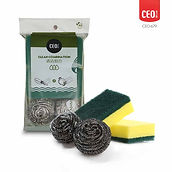 CEO-679 Cleaning scourer + sponge