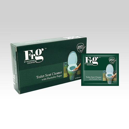 FRG Toilet Seat Cleaner 6s Wipes