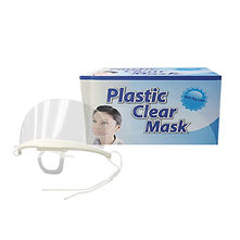FOCstore Sanitary Clear Mask (Anti-Fog)